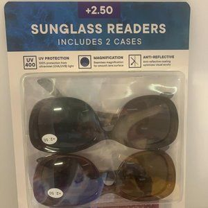 Modo sunglass readers + 2.50